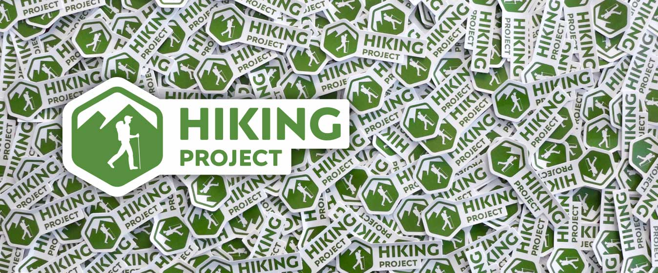 Hiking Project stickers